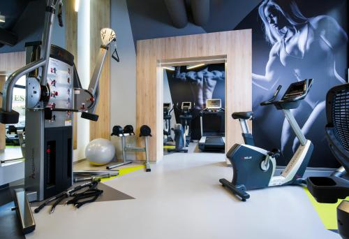 Gimnasio o instalaciones de fitness de OREA Congress Hotel Brno