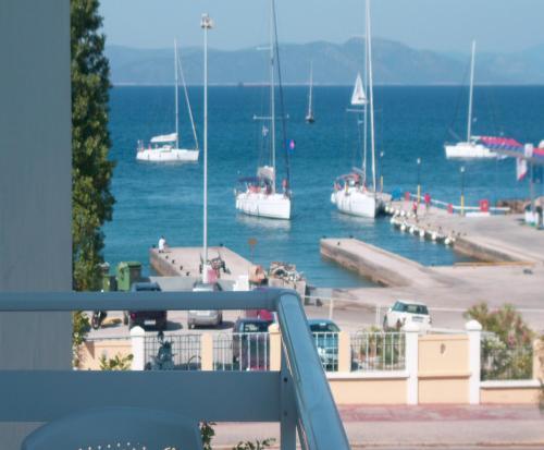 Μπαλκόνι ή βεράντα στο Kos Bay Hotel