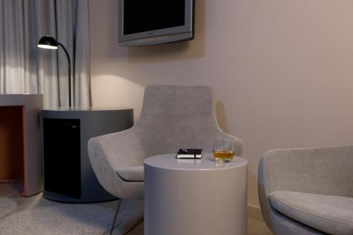A seating area at The Grey Design Hotel