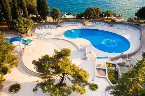 A view of the pool at Hotel Dražica - Hotel Resort Dražica or nearby
