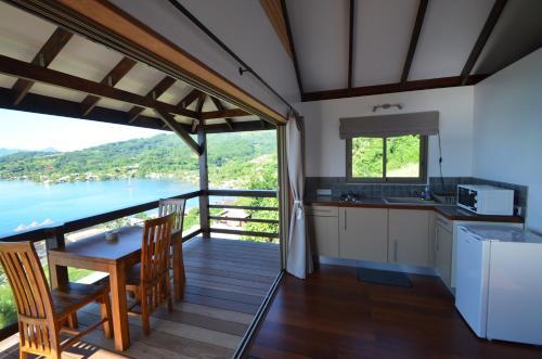 A cozinha ou cozinha compacta de Villa Tonoï