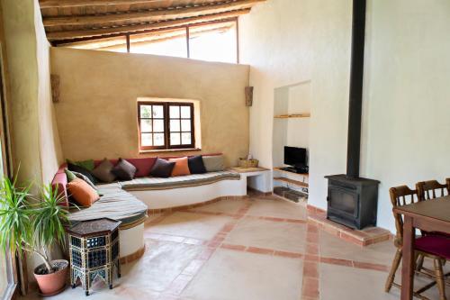 The lounge or bar area at Quinta do Arade