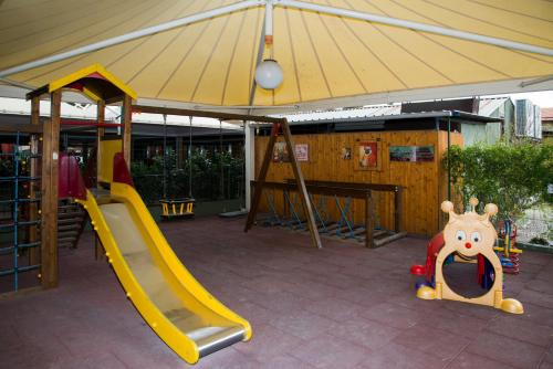 Children's play area at Camping Roma