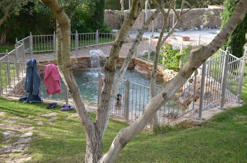 A garden outside Villa Terme Di Caldana B&B