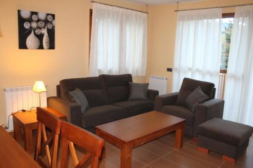 A seating area at Apartamentos Costarasa