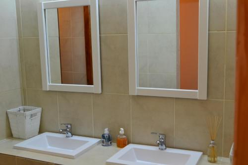 A bathroom at Valle Frío Ushuaia