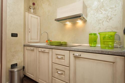 A kitchen or kitchenette at Apartment Lux Rovinj