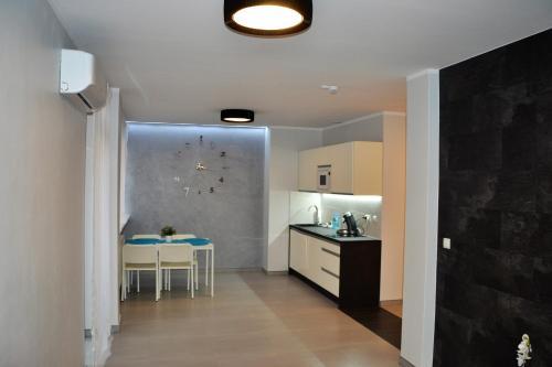 Kuchnia lub aneks kuchenny w obiekcie Apartamenty Krawiecka