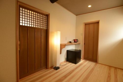 A television and/or entertainment center at Mitsuki Kyoto
