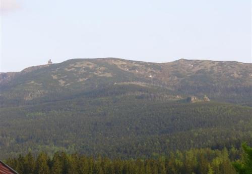 Widok na góry z tej kwatery prywatnej