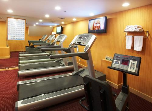 The fitness center and/or fitness facilities at The Hotel at Times Square