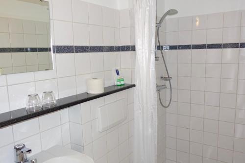 Salle de bains dans l'établissement Hotel Prins Maurits