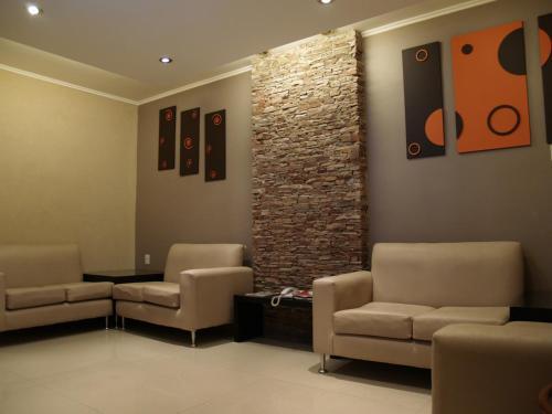 A seating area at Hotel El Cabildo
