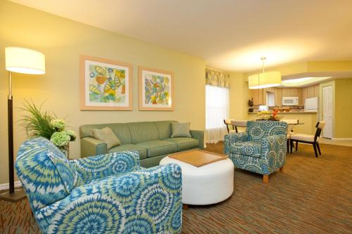 A seating area at Star Island Resort and Club - Near Disney