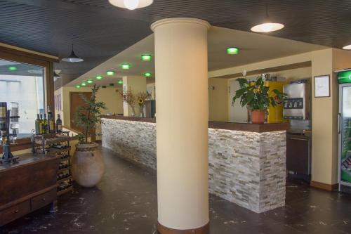 The lobby or reception area at Hotel Derby