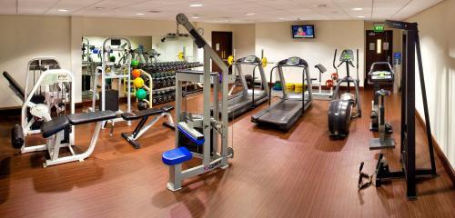 Palestra o centro fitness di Grand Canal Hotel