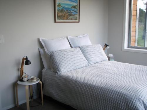Tongariro at Makotuku B&B房間的床