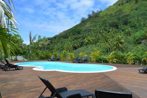 A piscina localizada em Villa Taura ou nos arredores