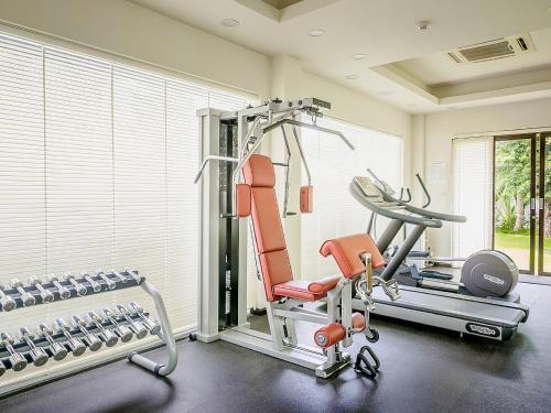 Phòng/tiện nghi tập thể dục tại Villa Song Saigon