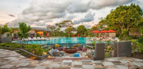 The swimming pool at or near Elements Of Byron