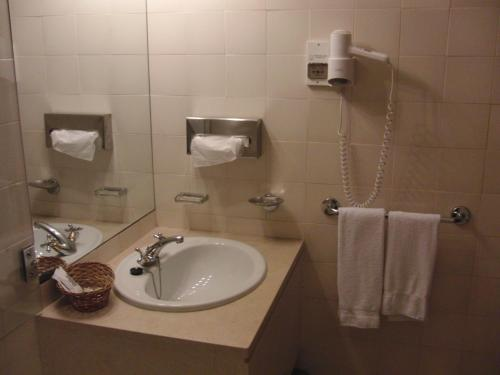 A bathroom at Hotel Castelo de Vide