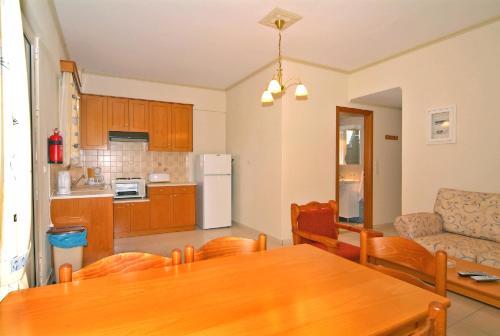 A kitchen or kitchenette at Sagittarius Apartments