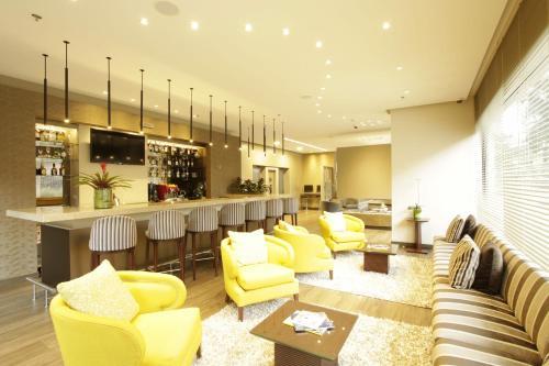 Salon ou bar de l'établissement bs Rosales Hotel