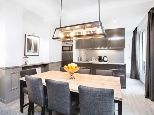 A kitchen or kitchenette at Luxury 3 Bedrooms Le Marais I by Livinparis