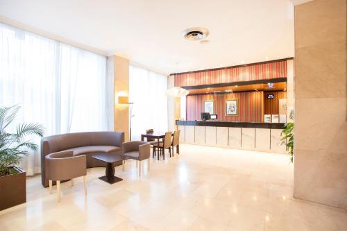 De lobby of receptie bij Be Live Adults Only Tenerife