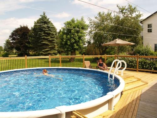 The swimming pool at or near Bakers Chest B&B