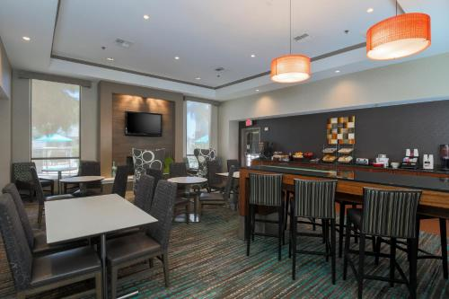 A restaurant or other place to eat at Residence Inn Bakersfield