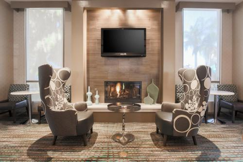 A television and/or entertainment center at Residence Inn Bakersfield