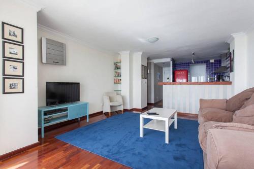 A seating area at Apartamento Susana