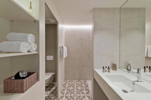 Ванная комната в Hotel Kettenbrücke