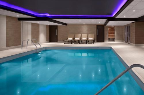 The swimming pool at or near Radisson Blu Hotel, Edinburgh City Centre