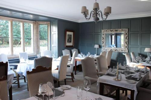 A restaurant or other place to eat at The Brownlow Arms Inn