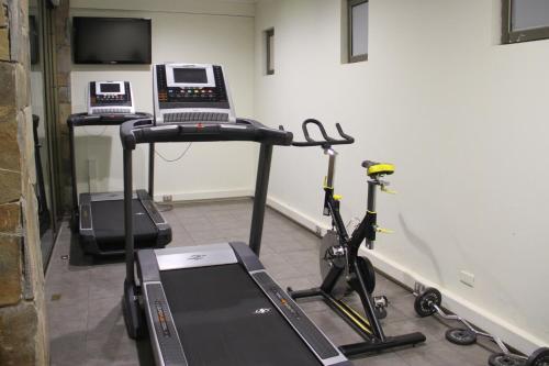 Gimnasio o instalaciones de fitness de Hotel Limari