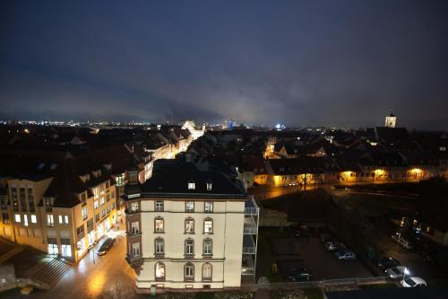 A bird's-eye view of Panorama Hotel Schweinfurt