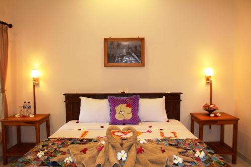 Un ou plusieurs lits dans un hébergement de l'établissement Pande Guest House