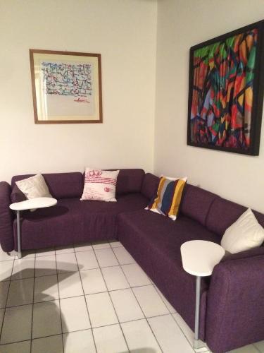 A seating area at Antico Vicolo