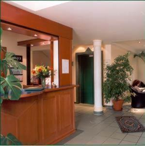The lobby or reception area at ARC Hotel