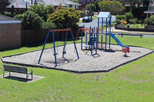 Children's play area at Hume Villa Motor Inn