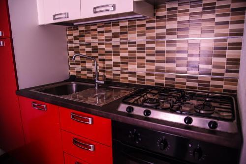 Cucina o angolo cottura di Casa Federico B&B