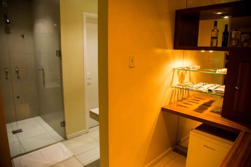 A bathroom at Motel Passione (Adult Only)