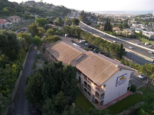 A bird's-eye view of Hôtel Belvedère Cannes Mougins