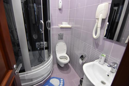Ванная комната в Гостевой Дом Манополис
