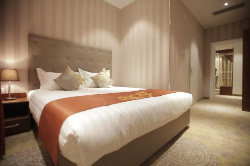 Cama o camas de una habitación en Hotel Nine Ulaanbaatar