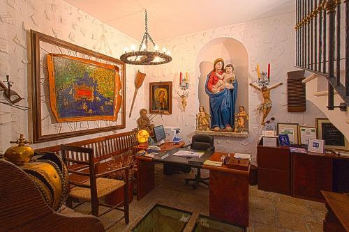 Lobby/Rezeption in der Unterkunft Villa Tuttorotto