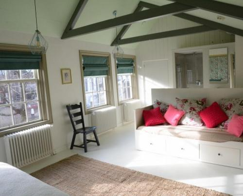A seating area at Heer&Meester Bed&Breakfast