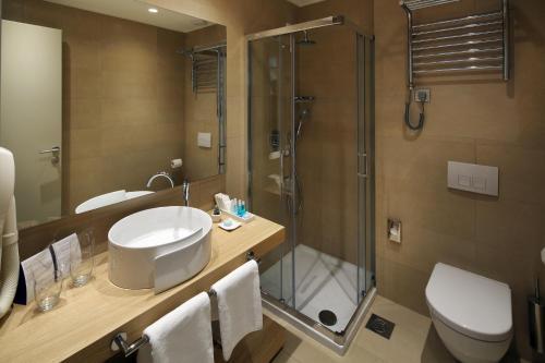 Ein Badezimmer in der Unterkunft Boutique Hotel Adoral